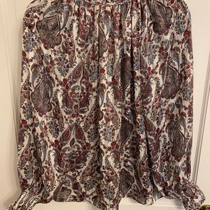 H&M long sleeved blouse size 6